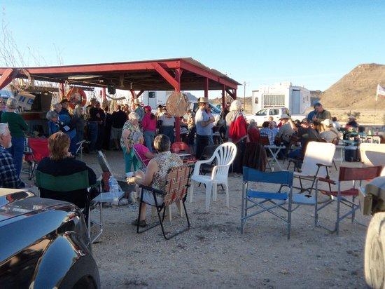 B.J.'s RV Park : Saturday Potluck at the Pavilion