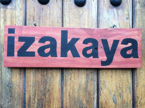 Izakaya : Name of the place
