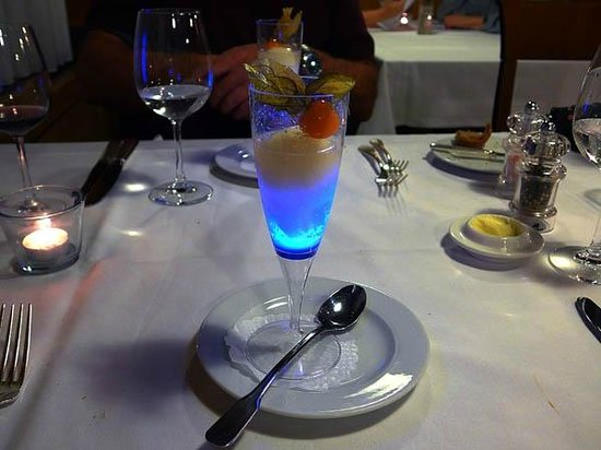 Grand Hotel Les Endroits : Package Dinner - 'Royal sorbet'
