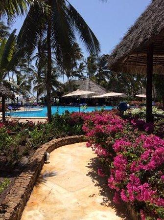 Breezes Beach Club & Spa, Zanzibar: jardin