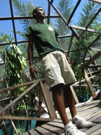 Green Iguana Conservation Project: Our awesome Tour Guide.
