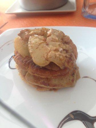 Come y Calla: Mille feuille de pommes et foie grasd