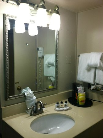 Chattanooga Choo Choo: Room bathroom