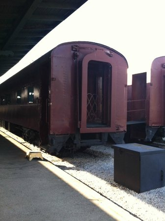 Chattanooga Choo Choo: Sample of the train cars - converted to rooms