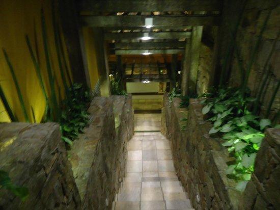 Bahiamarela Boutique Hotel : Escaleras a dormis