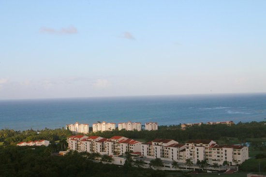Richie's Cafe: Beautiful view of ocean and Rio Mar resort