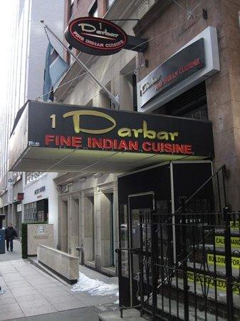 Darbar Fine Indian Cuisine: Exterior