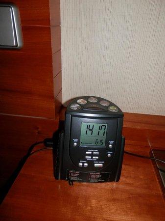 Hilton Prague: alarmclock