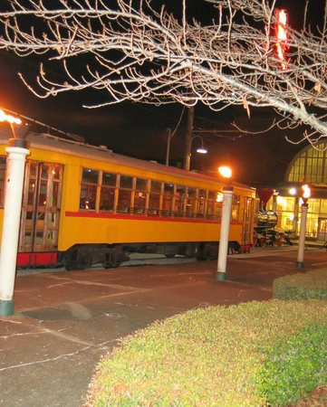 Chattanooga Choo Choo: Evening View - Antique Trolley