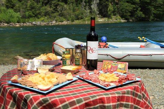 Aguas Blancas Rafting: Gourmet