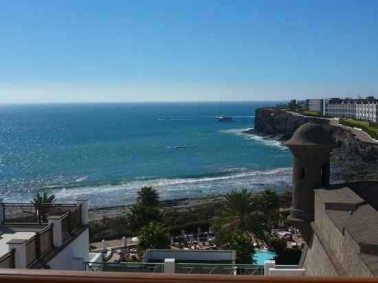 Gran Castillo Tagoro Family & Fun Playa Blanca: Vue de notre chambre