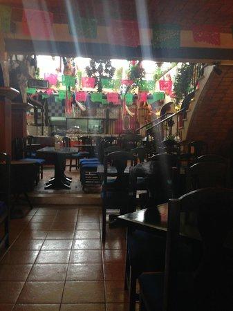 La Parrilla: Inside restaurant