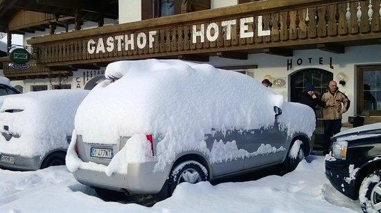 Berghotel Alpenrast: fronte hotel