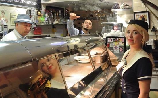 Poppies Fish & Chips: Let's go to Poppies in East London