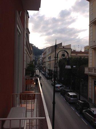 Palazzo Tasso: Balcon