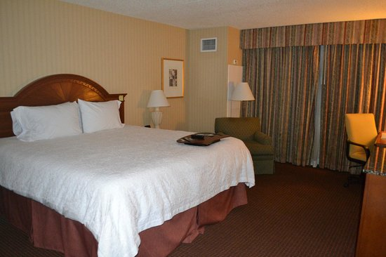 Hampton Inn NY - JFK: Our room