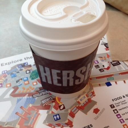 Hershey's Chocolate World : best hot cocoa