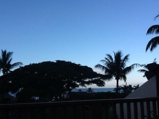 Maui Kamaole: view from lanai