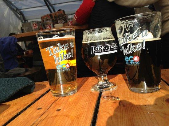 Long Trail Brewing Company: Ramble, culmination, and irish uprising. All very good.