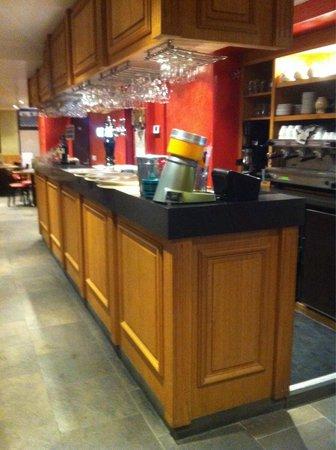 L'aiguille Creuse : Le bar