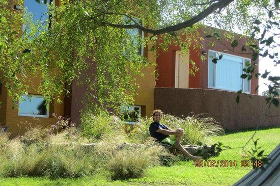Hosteria y Casas de Campo Chacra Bliss: entrada a la habitacion