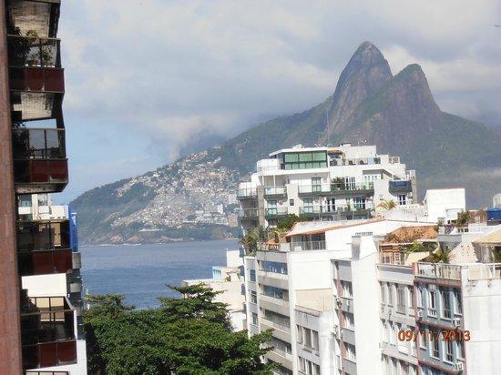 Mercure Rio de Janeiro Arpoador Hotel: Vista de la habitacion