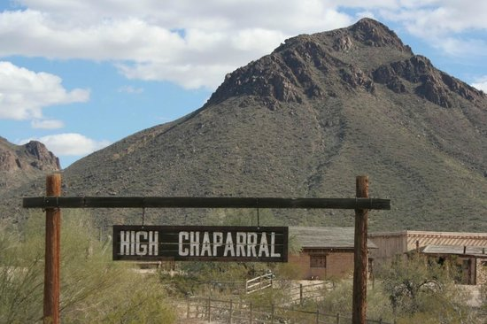 Old Tucson : High Chaparral set