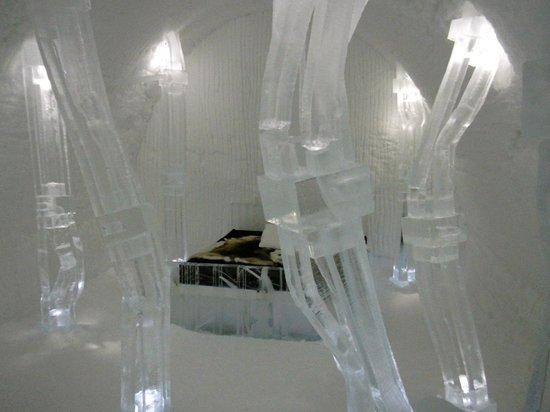 Icehotel: Luxury suite