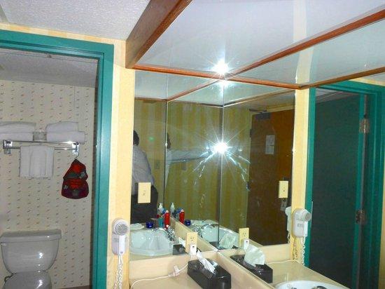 Delta Hotels by Marriott Kananaskis Lodge: cramped bathroom