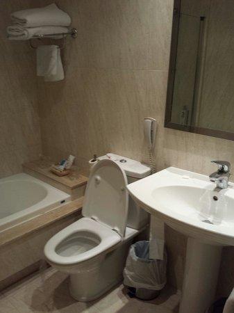 BEST WESTERN Cervantes Hotel -- Seville : Salle de bain