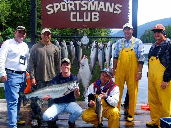Rivers Inlet Sportsman's Club Ltd : Noon Haul