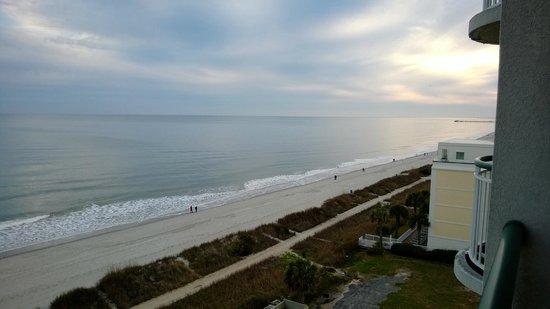 Hampton Inn & Suites Myrtle Beach/Oceanfront: Balcony View