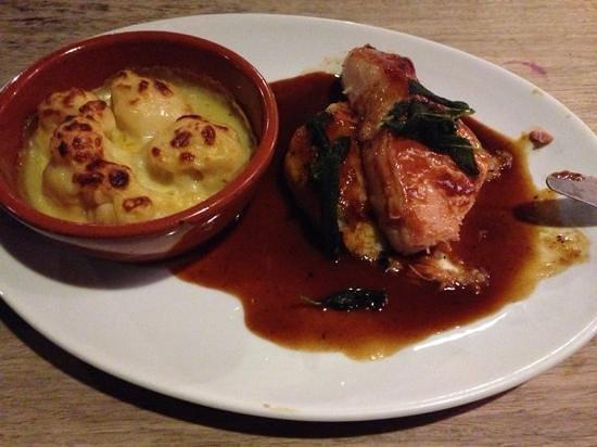 The George Inn: bacon loin