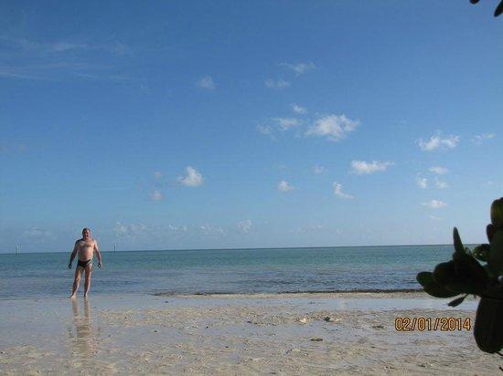 Anne's Beach: aguas turquesas