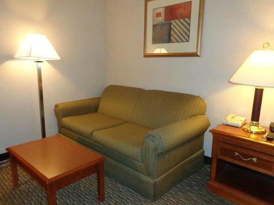 Holiday Inn Rutland-Killington Area: couch in room