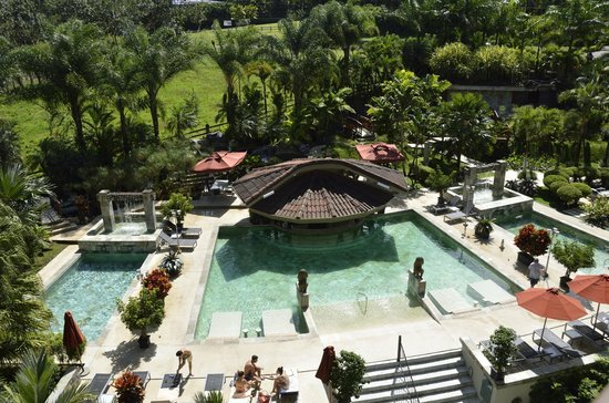 The Royal Corin Thermal Water Spa & Resort: View from Balcony