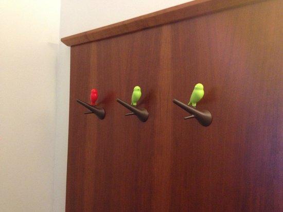 Hotel&Villa Auersperg : Cute Coat Hooks