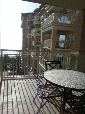 Marriott's OceanWatch Villas at Grande Dunes: Balcony