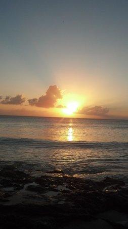Rhythms at Rainbow Beach: beautiful sunday sunset
