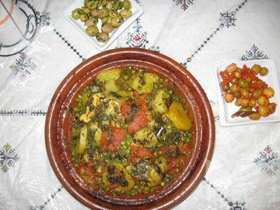 Restaurant les Amis: tagine