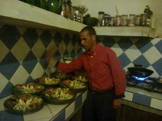 Restaurant les Amis: this is me omar the oner