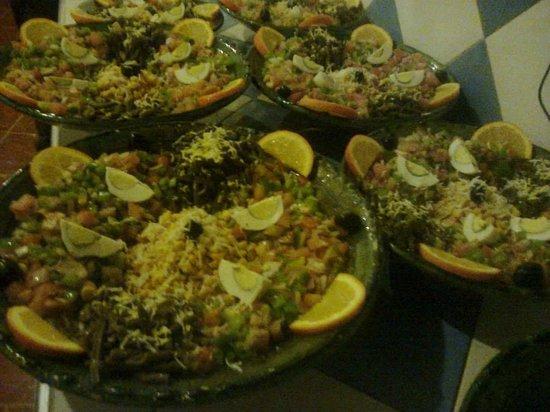 Restaurant les Amis: salads