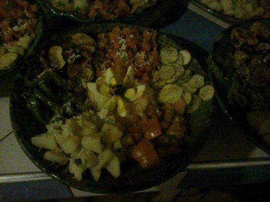 Restaurant les Amis: salad