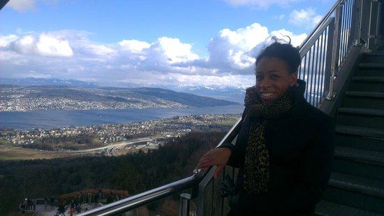 Uetliberg Mountain : ..on the way down
