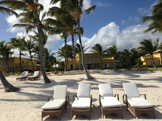 Tortuga Bay, Puntacana Resort & Club: View of the Villa from the Beach