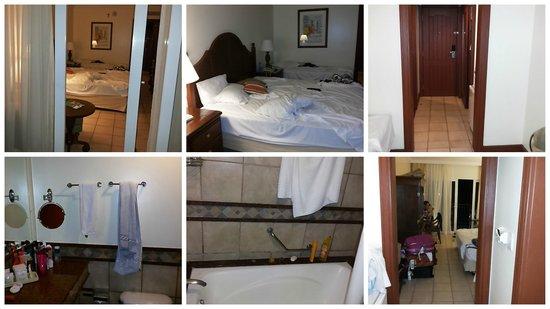 Sauipe Resorts: Uma colagem de varias fotos do ap