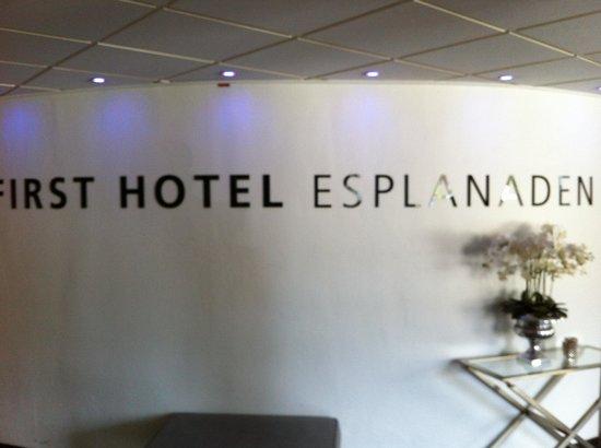 First Hotel Esplanaden : Lobby