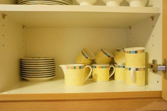 Hospiz Alm Residences: kitchen cups