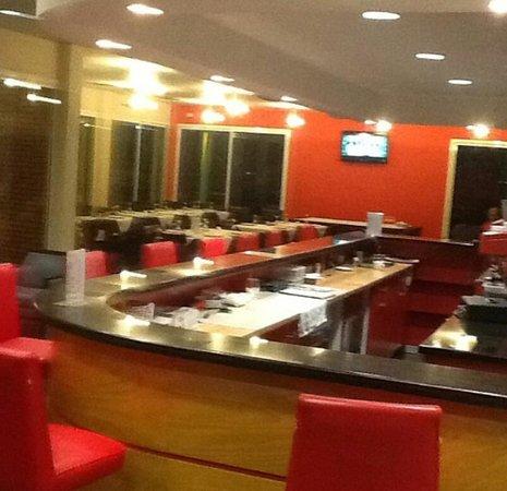 Hotel de Federaciones Malabo: Bar/dining area