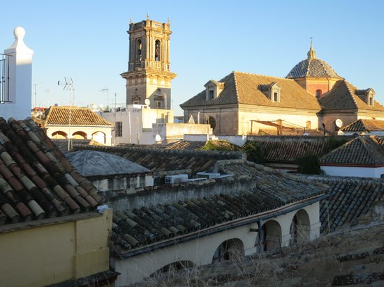 Pension Dona Trinidad: View from top of building